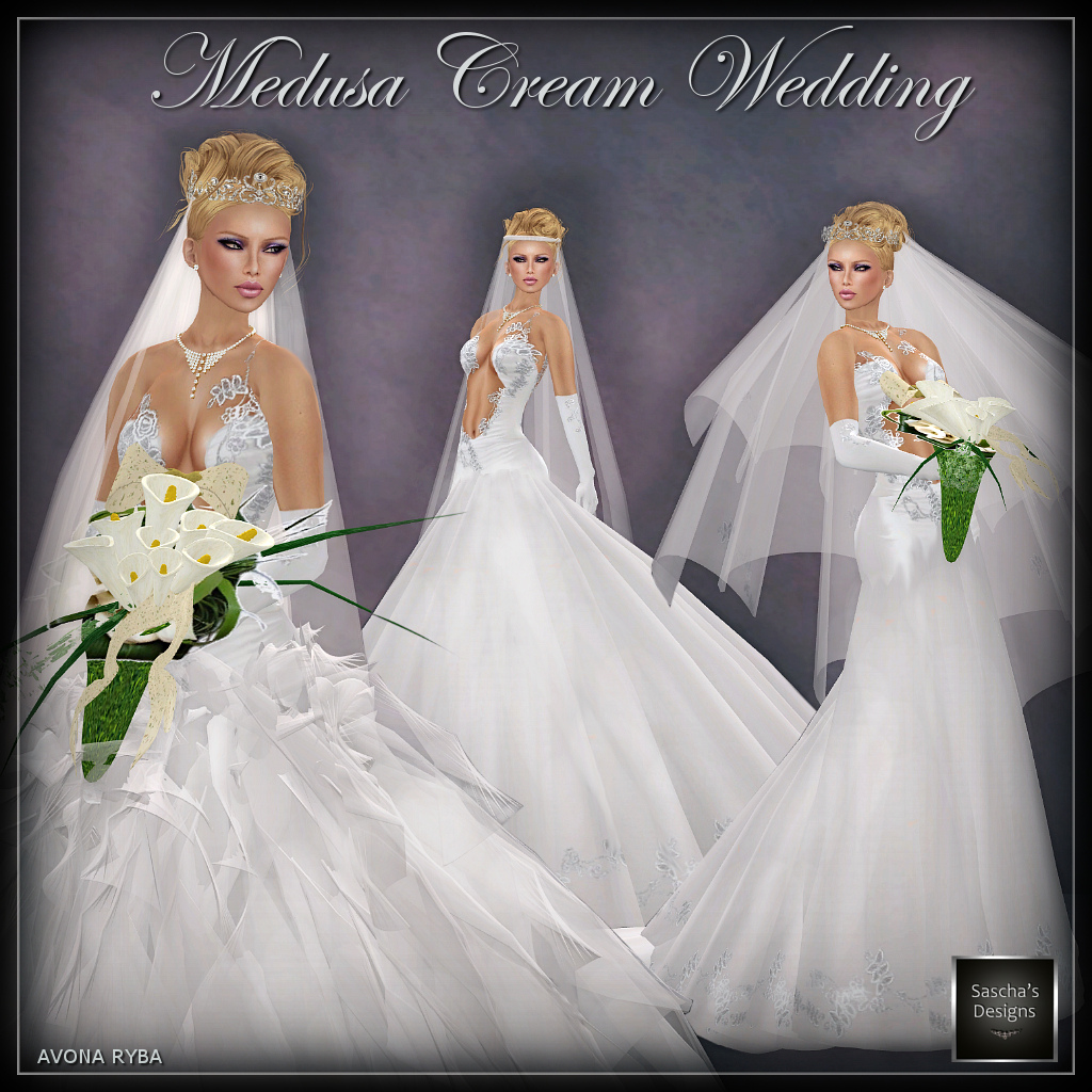 Sascha 39 s designs formal classy casuals medusa for Virtual try on wedding dress