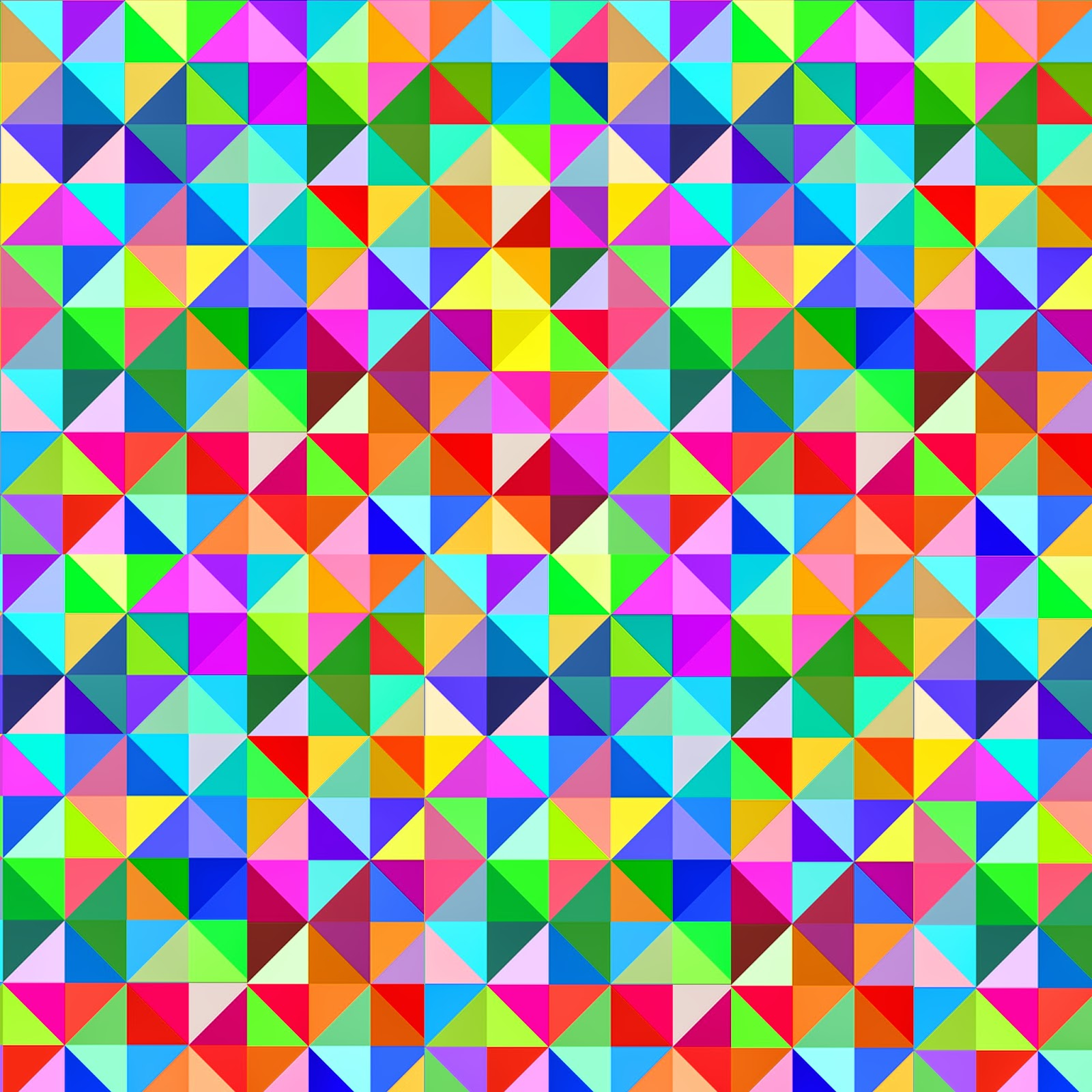Doodlecraft Gigantic Geometric Colorful Triangle FREEBIES