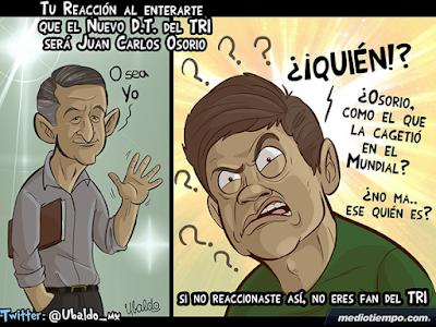 Osorio el nuevo entrenador de México