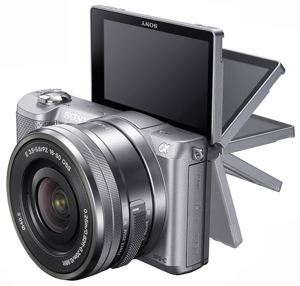 Camera Sony Compact Dslr Camera sony alpha5000 model offers dslr power in compact body digital android nfc wi fi connectivity alpha 5000 full