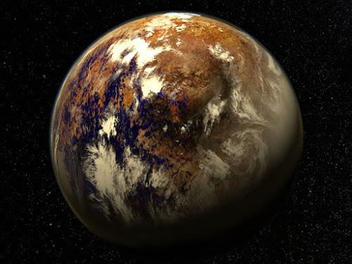 Proxima b - Exoplaneta rochoso a apenas 4.2 anos luz daqui