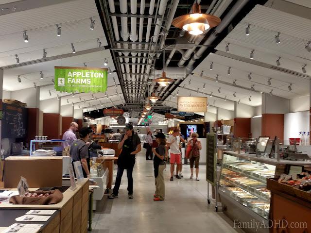 Boston Public Market indoor farmer's market open in Boston Blogger Tour