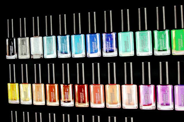 nail polish graphic representation