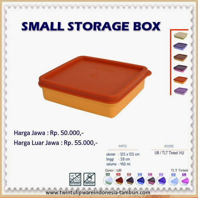 small storage box tulipware 2013