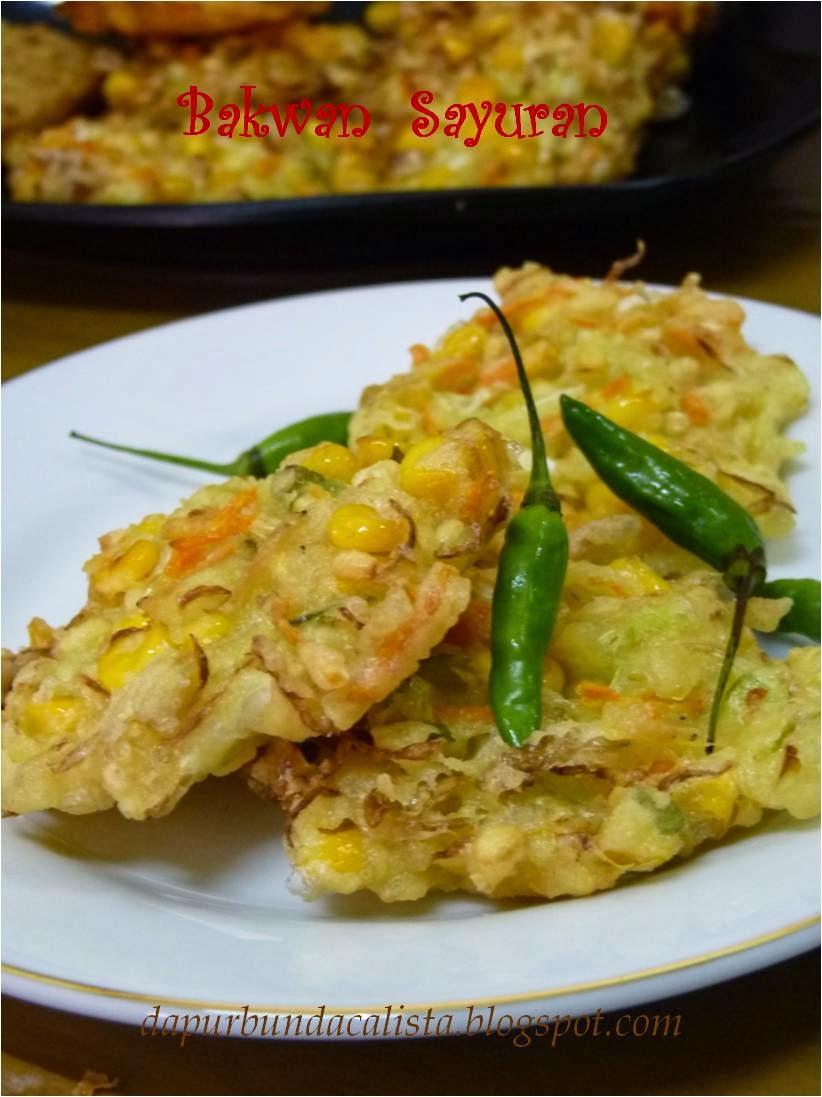 """""""Dapur Bunda Calista"""": Bakwan Jagung & Sayuran"""