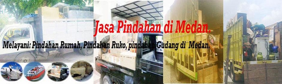 Jasa pindahan di Medan: Jasa pindahan rumah di Medan, Jasa pindahan kantor kost gudang di Medan.