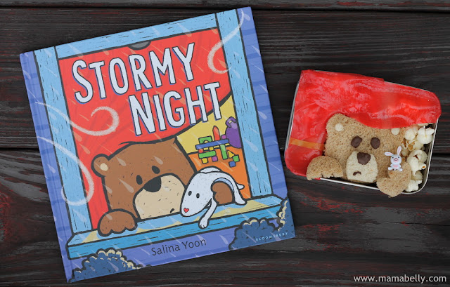 Literary Lunch STORMY NIGHT by Salina Yoon - mamabelly.com
