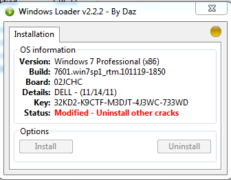 windows 7 ultimate incapable of kms activation