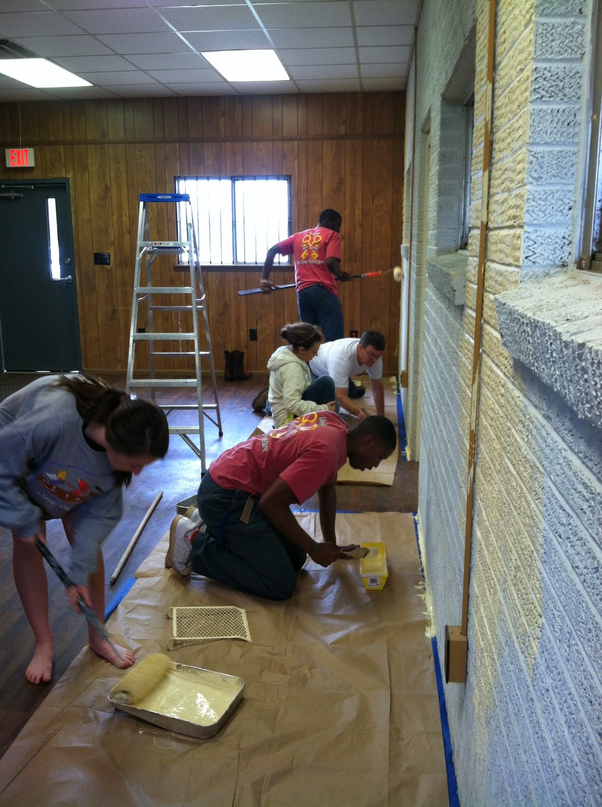 MCPS Students Spend a Saturday Renovating for Transformation Montgomery 2
