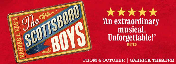 Scottsboro Boys, Garrick Theatre, London, 2014