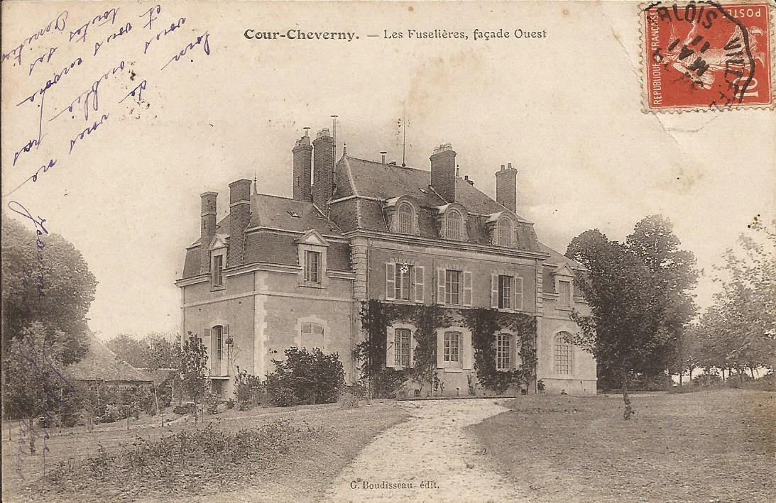 Château des Fuselières - Cour-Cheverny