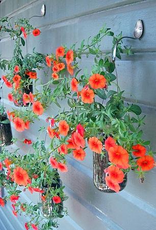 10 ideas para reciclar frascos de mermelada for Plantas jardin baratas