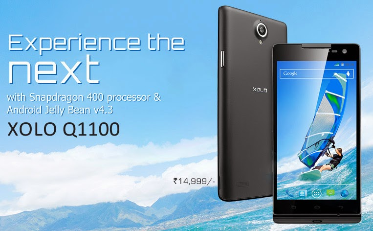 XOLO Q1100 Launched For Rs.14,999