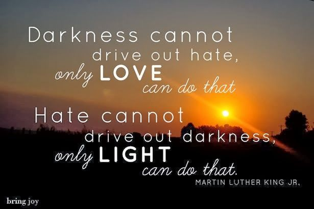 the true meaning of darkness cannot drive out darkness only light can do that Darkness cannot drive out darkness only light can do that  constantly into myself to be as certain as i can that i am fulfilling the true meaning of my.