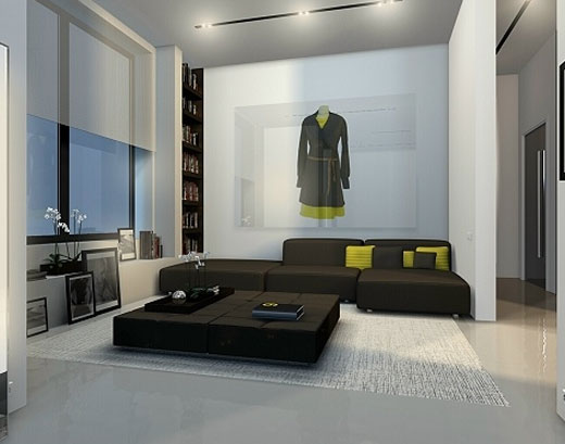 minimalist interior design for living room