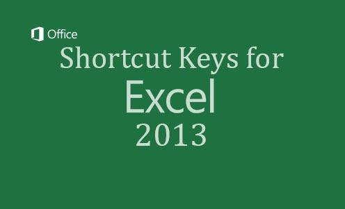 ms excel 2013 shortcut keys pdf