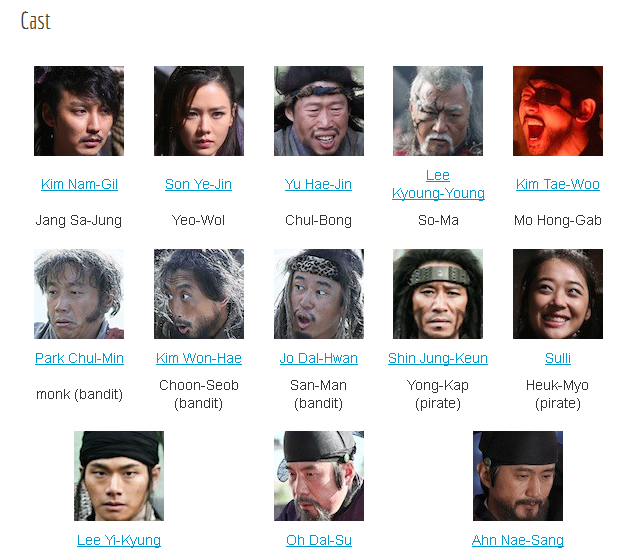Nama Pemain Film The Pirates Korea 2014