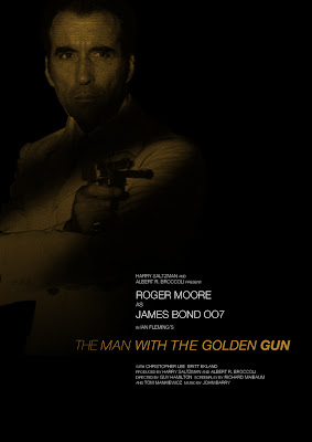 James Bond The Man with the Golden Gun 007 okokno