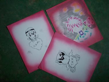 estos son unos dibujos de un amigo...Edgar,yo dandole credito =D!!