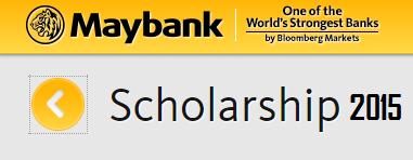 Permohonan Biasiswa Scholarship Maybank 2015