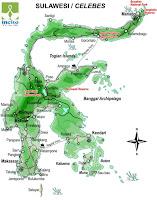 peta sulawesi indonesia