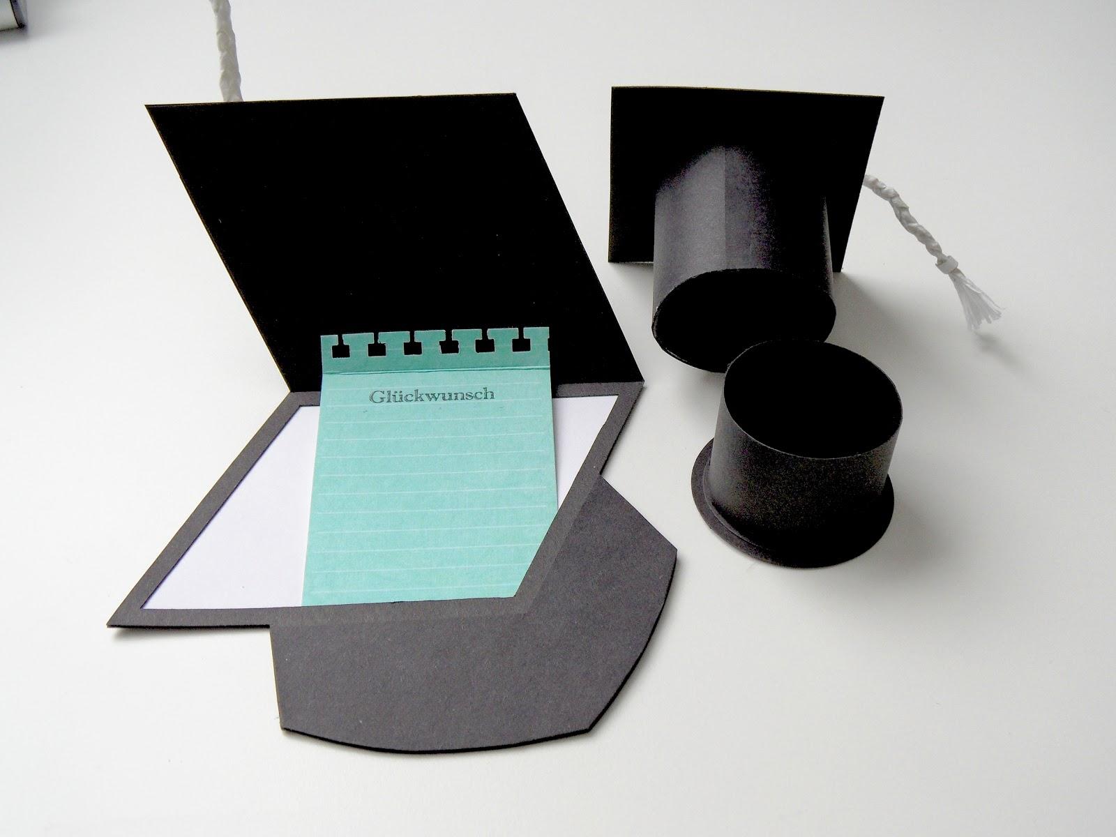 janasbastelecke geschenke zur promotion. Black Bedroom Furniture Sets. Home Design Ideas