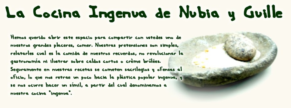 La cocina ingenua de Nubia y Guille