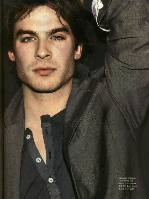 Ian Somerhalder says he asked Kevin Williamson and Julie Plec, producers of ...