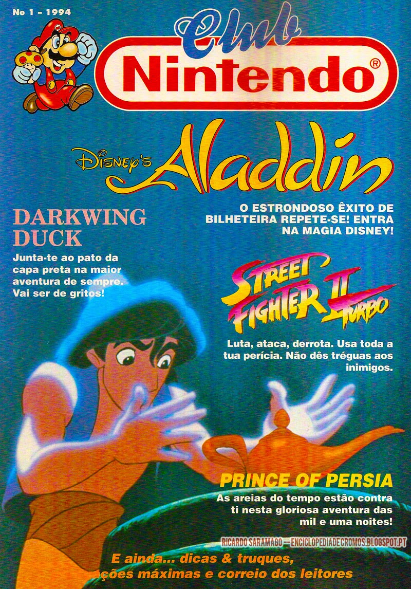 Disneys Aladdin Darkwing Duck Street Fighter II Turbo Prince Of Persia