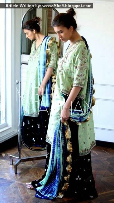 Designer Pakistani Dresses by Misha Lakhani