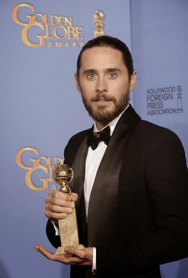 Blog de la Tele: Jared Leto Mejor Actor Secundario Globos ...