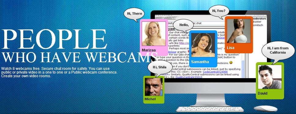 live chat rooms: