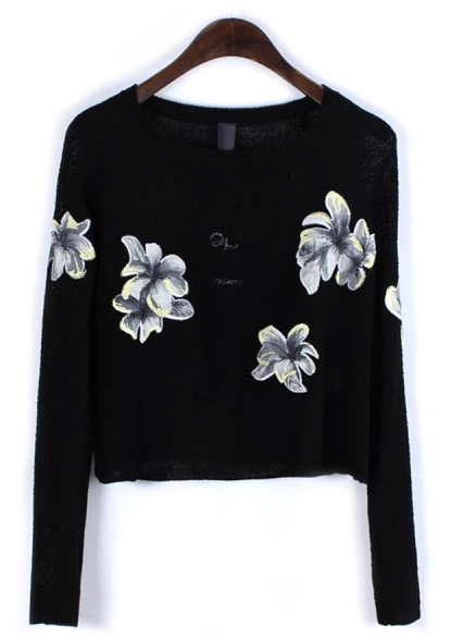 http://www.oasap.com/sweaters-cardigans/43397-brilliant-floral-cropped-sweater.html