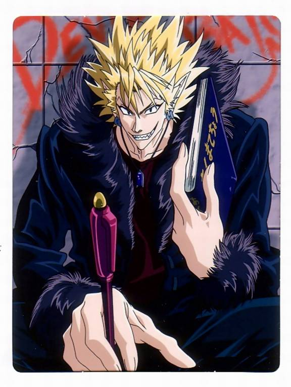 Seryu Faith: 7 . Tokoh Anime Pria Terkeren