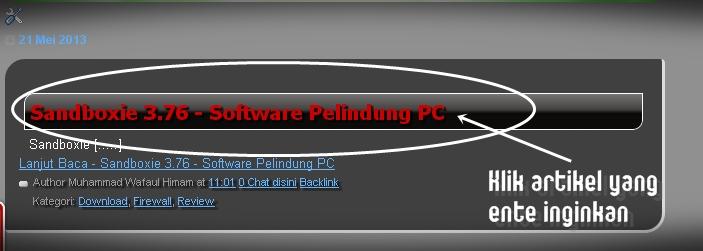 Cara Download di MasWafa Blog (Download Software, Cheat, Film, dsb) 1