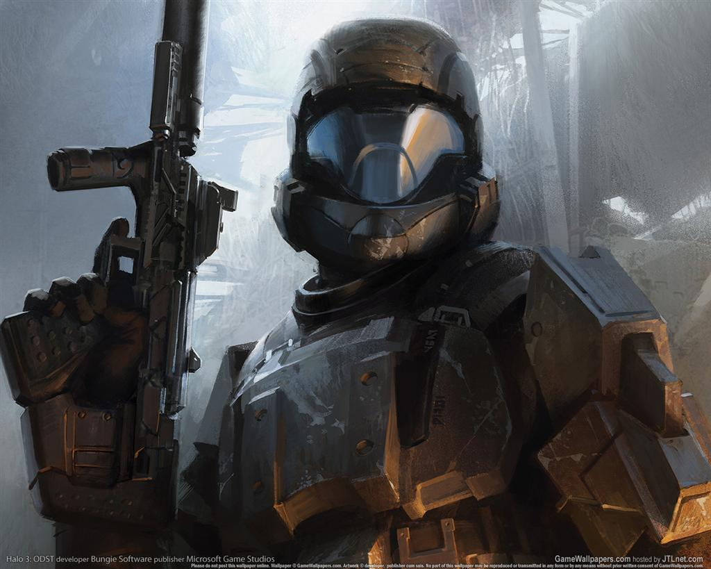 Halo HD & Widescreen Wallpaper 0.327977734381708