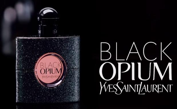 Opium Yves Saint Laurent Pubblicità Black Opium di Yves Saint