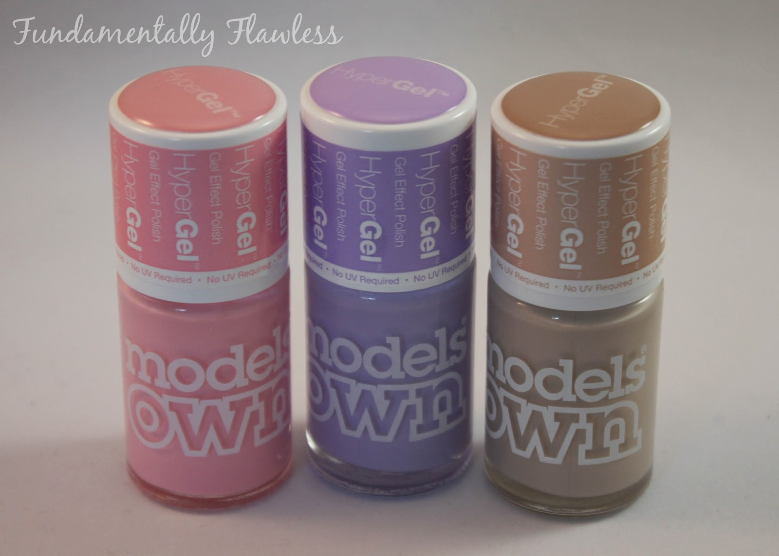 Models Own HyperGel polishes swatch and review