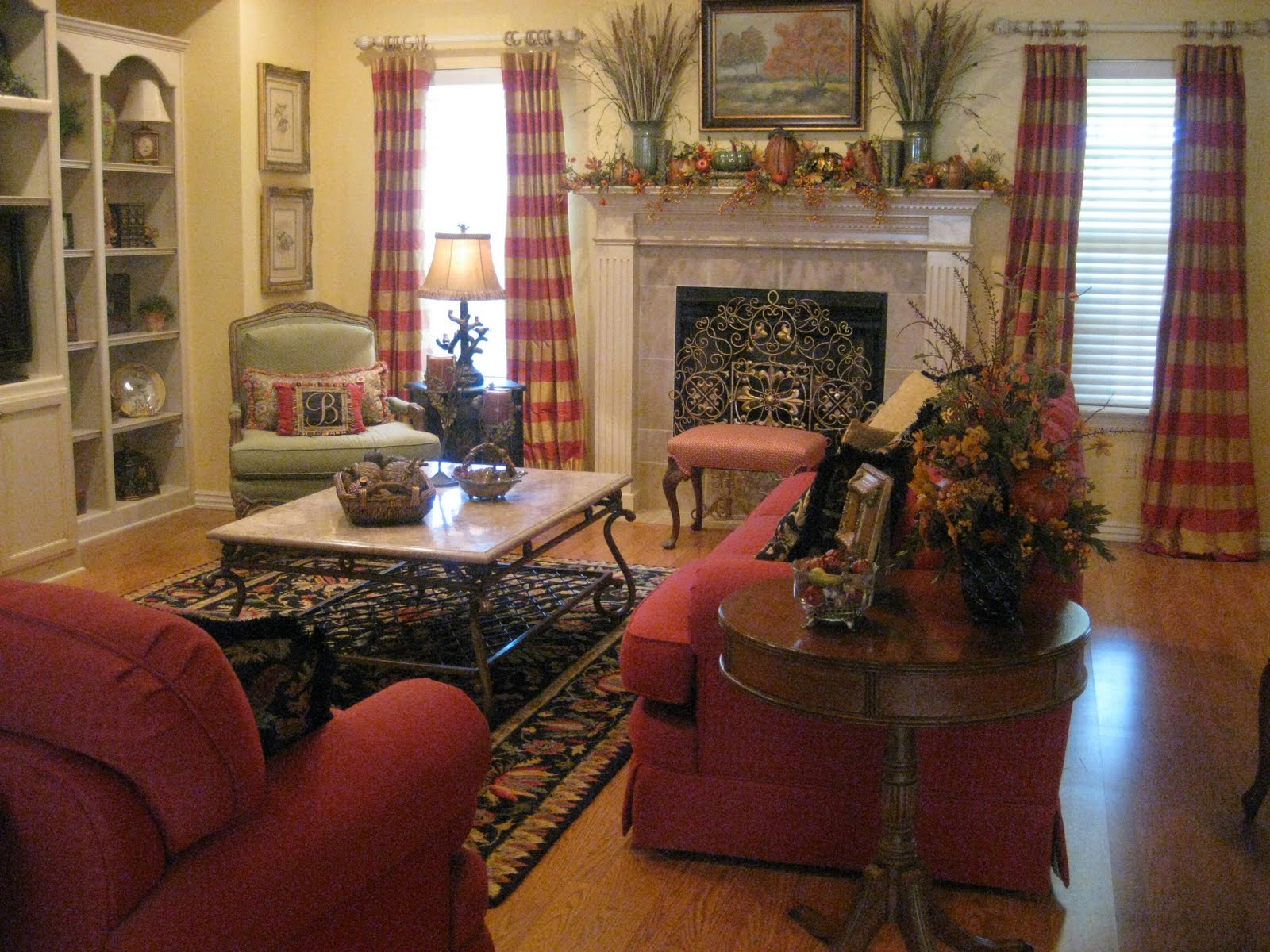 Kristen 39 S Creations Fall Living Room Tour