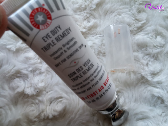 first aid beauty eye cream review