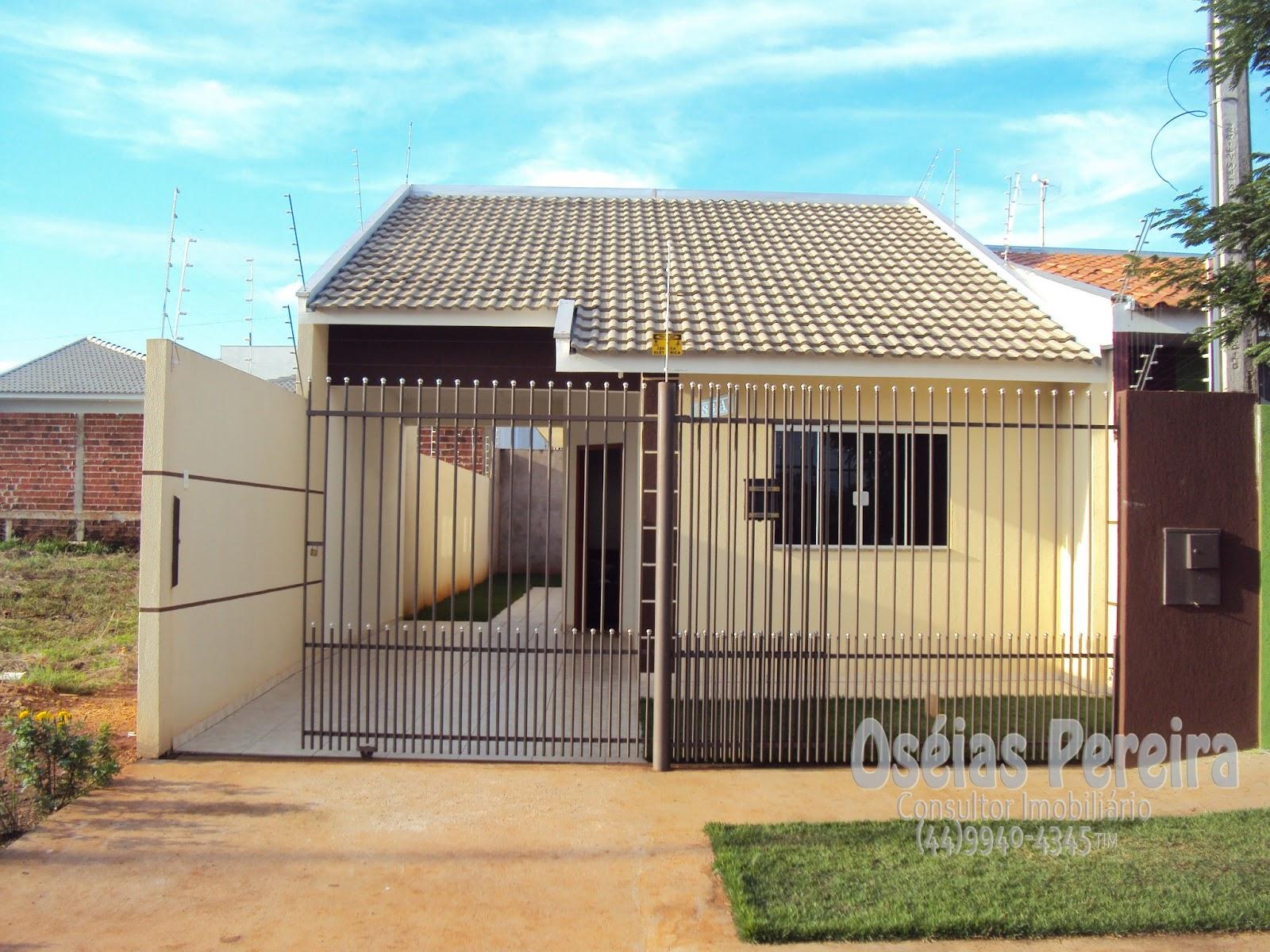 em Construções: Casas Geminadas do Construtor Toninho G. em Maringá #12A0B9 1600x1200