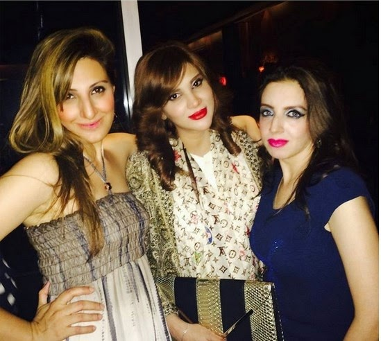 Actress Fiza Ali Celebrates Birthday With Friends ( Exclusive Photos)
