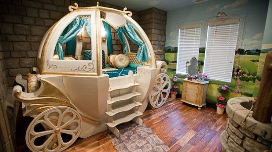 Disney Princess Cinderella Carriage Bed