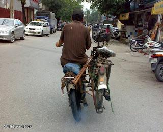 Reboque para mota