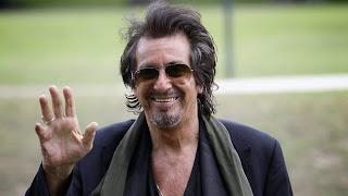 Al Pacino's hands.