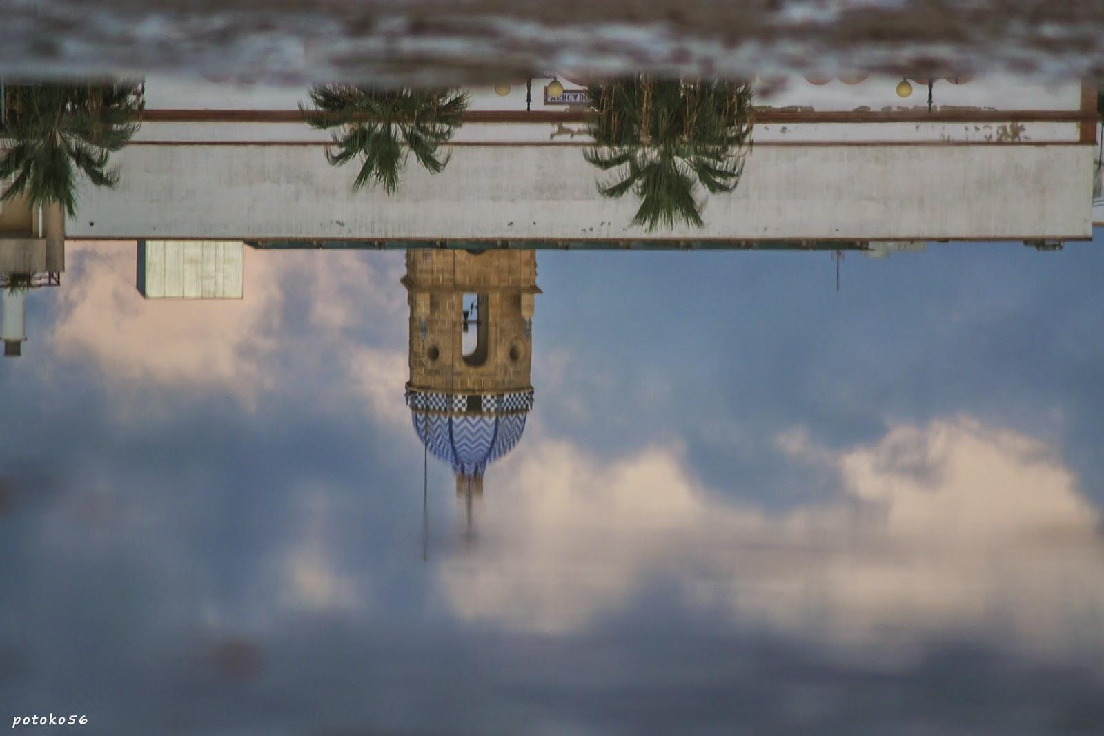 reflejos de la Torre de la Merced Rota