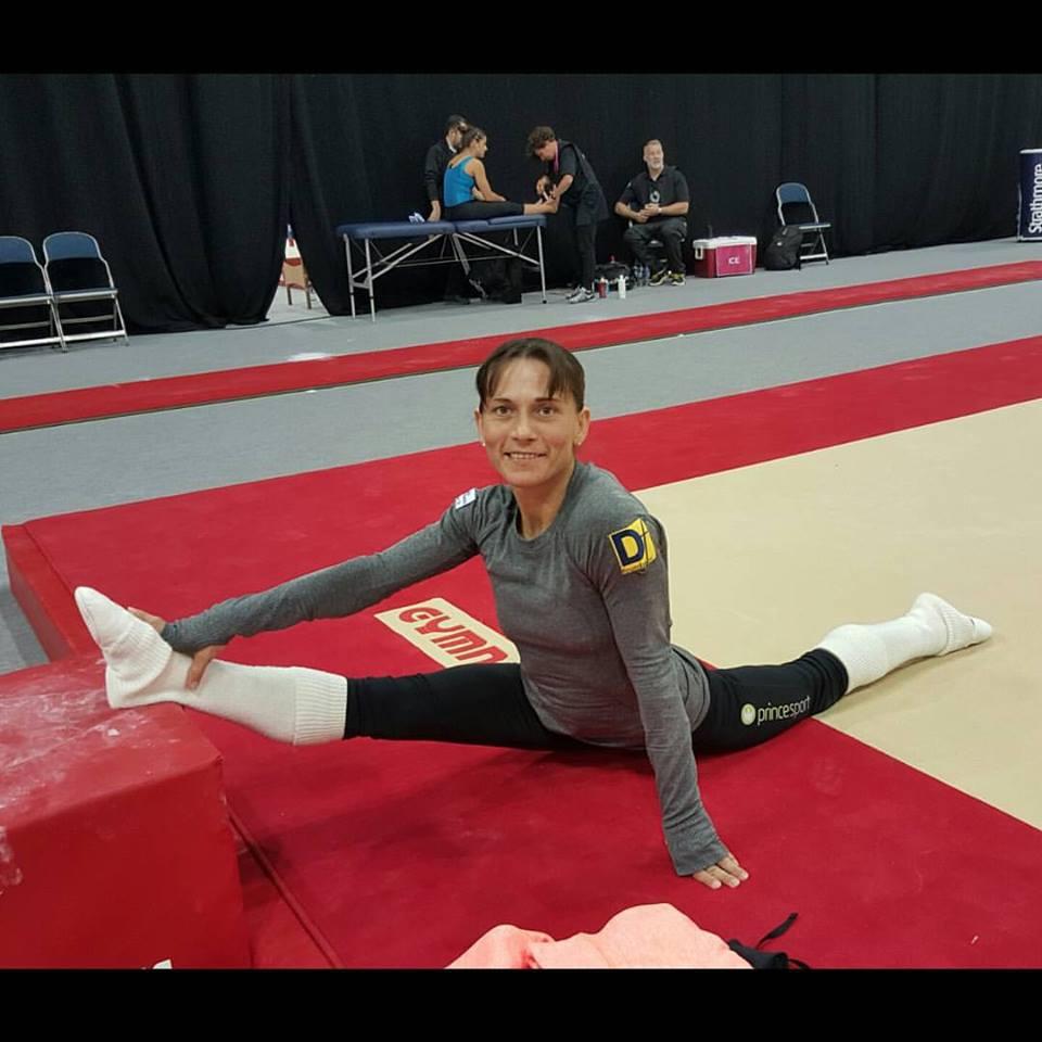 vault gymnastics gif. Uzbekistan\u0027s Oksana Chusovitina Stunned The Gymnastics Community When She Announced That Will Be Competing Most Difficult Vault In Women\u0027s Gif A