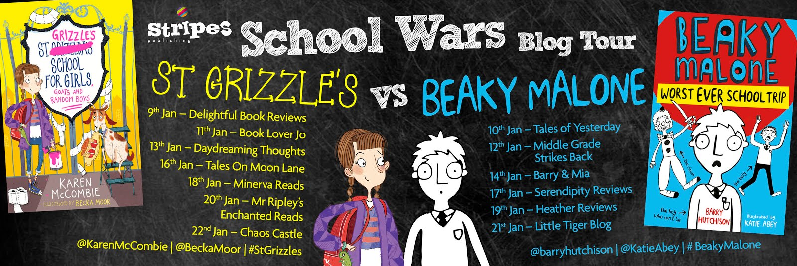 School Wars Blog Tour