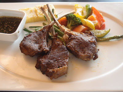 Grilled Australian Lamb Rack