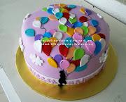 Balloon Theme Cake. Cake. Order by: Khaleela. Flavour: Devils Chocolate (balloon )